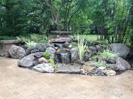 Pics Of Backyard Landscaping by Best 25 Backyard Stream Ideas On Pinterest Garden Stream Pond