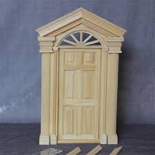diy exterior door diy doll house furniture accessories 1 12 scale dollhouse