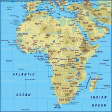 World Atlas Maps by Map Of Africa Map Of The World Physical Map In The Atlas Of The