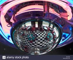 neon light fixture reflecting arnolds classic diner rapid city