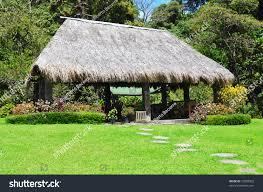 rural tropical hut backyard house stock photo 72098503 shutterstock