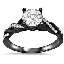 black black gold engagement rings best 25 white sapphire engagement rings ideas on
