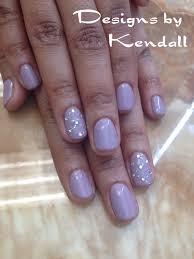 purple shellac nail designs nails by kendall pinterest