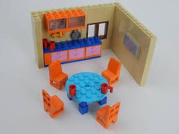 kitchen furnitures from lego set 71006 simpson u0027s house youtube