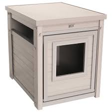 litter box end table new age pet litter loo ecoflex end table with hidden kitty litter