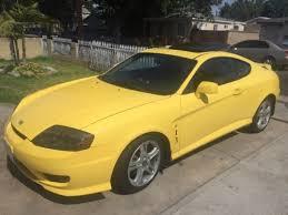 2006 hyundai tiburon for sale yellow hyundai tiburon for sale used cars on buysellsearch
