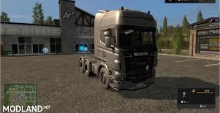 scania truck scania truck r730 v 1 0 mod farming simulator 17