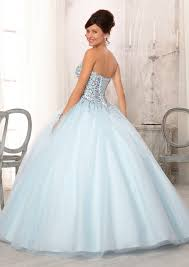 baby blue quinceanera dresses perfectly looking beaded tulle light blue quinceanera dresses on