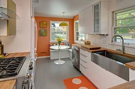 galley kitchen decorating ideas galley kitchen decorating ideas kitchen midcentury with white oval