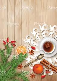 christmas tea party christmas tea party background stock vector more images of