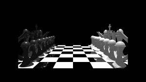 man ray chess pov ray chess scene youtube