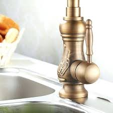 antique brass kitchen faucet newport brass kitchen faucets buy the waterstone polished brass