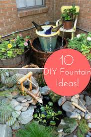 Diy Patio Fountain Download How To Build Your Own Water Feature Solidaria Garden