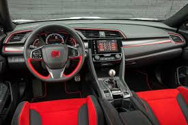 honda civic type r 2017 2017 honda civic type r interior 04 motor trend