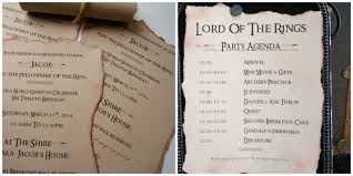 Birthday Invitation Cards For Teenagers Michelle Paige Blogs Lord Of The Rings Birthday Party
