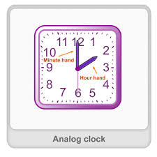 analog clock definition examples u0026 fun math worksheets