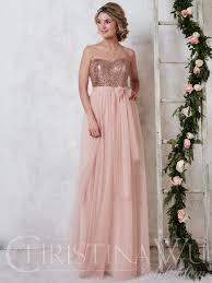 christina wu 22725 sweetheart tulle a line bridesmaid dress