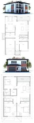 house plan for narrow lot modern narrow house plans wonderful design modern house for small