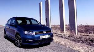 volkswagen gti blue 2017 volkswagen polo gti 1 8 tsi dsg car review youtube