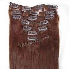 remy clip in hair extensions 32 inch 33 auburn clip in human hair extensions 11pcs