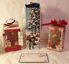 annes papercreations tutorial twisted christmas gift boxes video