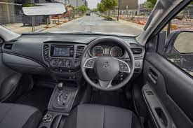 mitsubishi expander interior 2017 mitsubishi triton update now on sale in australia