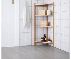 shelving wooden corner shelf in white with two compartments