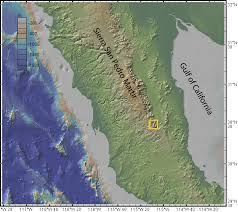 Map Of Sonora Mexico by Widespread Ignimbrite Constrains Tectonic History Of The Gulf Of
