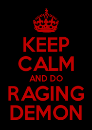 How To Make Your Own Keep Calm Meme - keep calm and do raging demon keep calm memes pinterest