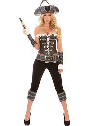 Pirate Halloween Costume Women Vilanya Strapless U0026 Sleeveless 5 Pieces Pirate Halloween Costumes