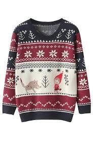 christmas sweaters snowflake jumper christmas sweater