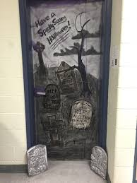 thoughts from the art room halloween door decorating contest