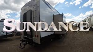 sundance 3700 rlb full profile fifth wheel heartland rvs youtube