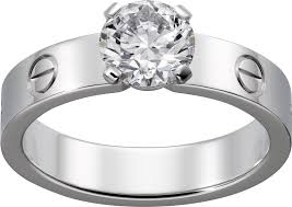 cartier solitaire rings images Crn4724600 solitaire ring white gold diamond cartier png