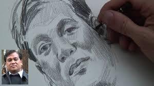 a portrait sketch demonstration by montmartre artist gezer youtube