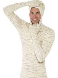 halloween body suit mummy second skin bodysuit costume mens halloween body suit adults