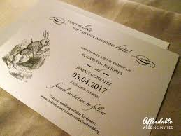 wedding invitations printing affordable wedding invites by gossett printing invitations