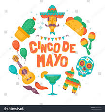 cinco de mayo mexican holiday banner stock vector 626329130