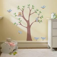 pochoir chambre bébé le pochoir mural 35 idées créatives pour l intérieur archzine fr