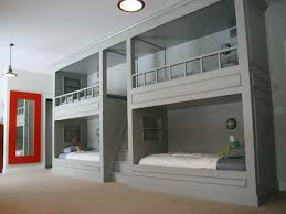 Bunk Beds In Wall Why Bunk Wall Beds Are Popular With Four Room For The Home