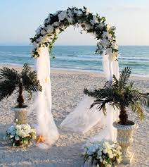 40 stunning beach wedding arches u0026 wedding altar ideas ever