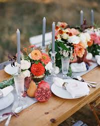 fall wedding centerpieces on a budget 66 rustic fall wedding centerpieces martha stewart weddings