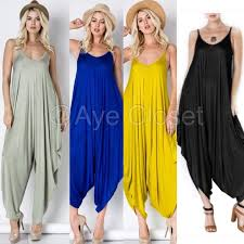 harem jumpsuit boutique harem jumpsuit oversized dress boho comfy from