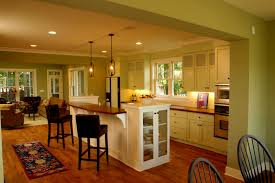 kitchen open to dining room beautiful open concept kitchen dining room floor plans gallery