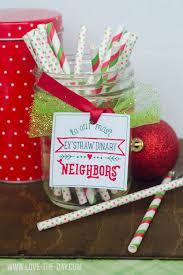 neighbor gift ideas u0026 free printable wrapped three ways