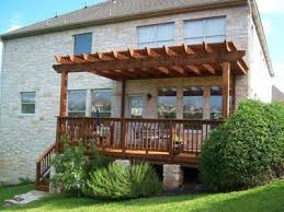 Attached Pergola Plans by 23 Best Want This With Shades Images On Pinterest Pergola Ideas