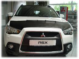 mitsubishi singapore bonnet bra mitsubishi asx since 2010 custom car hood bra nose mask
