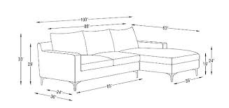 length of standard couch typical couch dimensions sectional sofa dimensions standard sofa