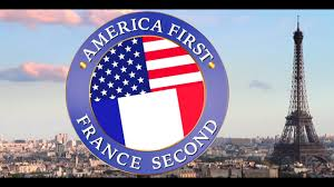French And American Flags America First France Second Official Youtube
