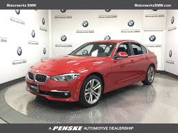 red bmw 2017 2017 used bmw 3 series 340i xdrive at motorwerks bmw serving